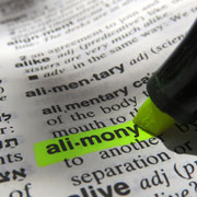 pension benefits as alimony